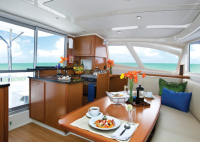 Galley with 360 Degree Views of the Ocean